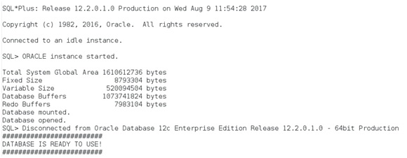 Docker – Oracle 12c EE on OL7 | Lalit Kumar B